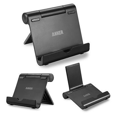 Anker® Multi-Angle Portable Stand for Tablets, E-readers and Smartphones Black