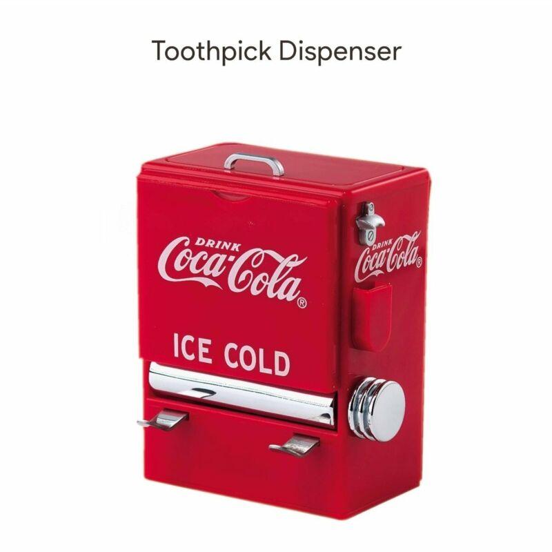 TableCraft Coke Vending Machine Toothpick Dispenser Plastic Holder Kitchen Cafe
