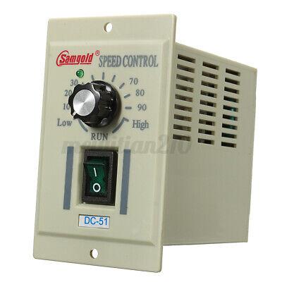 Adjustable Dc-51 13 Phase Ac 110v Motor Rotary Speed Controller For Dc 90v 400