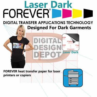 Heat Transfer Paper Laser Printer Forever Laser-dark Economy 10 Sh 8.5x11