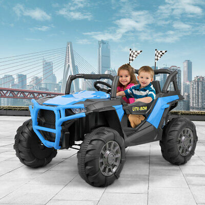 Electric Car Kids Ride on SUV Toy 12V Battery Powered 3 Speed W/ Remote Control