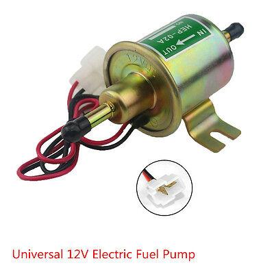 Universal 12V Auto Petrol Diesel Gas Fuel Pump Inline Electric Fuel Pump HEP-02A