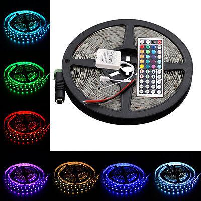16.4FT RGB Changing Color Flexible Led Strip Lights SMD5050 300led&44Key Remote - Indoor String Lights