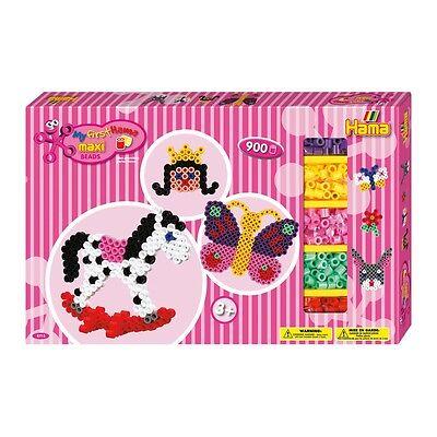HAMA maxi 8713 Bügelperlen Set PINK Gigantische Geschenkpackung