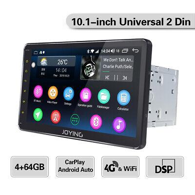 EU 10.1 Inch Android 8.1 Car Radio For universal car model 4G SIM card slot DSP