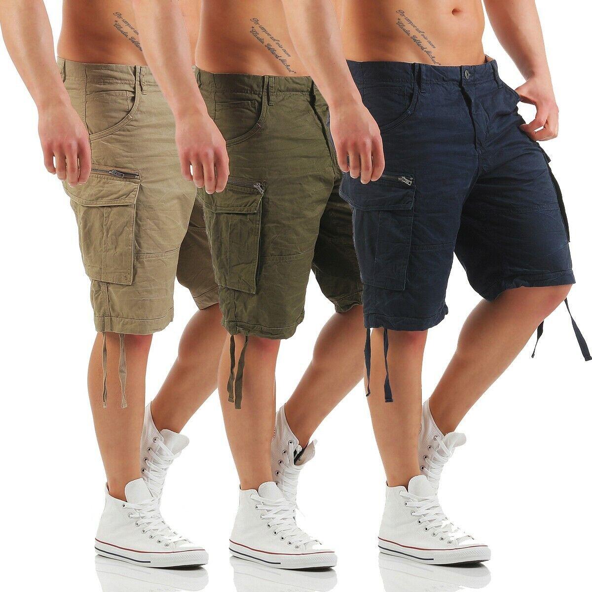 JACK & JONES - CHOP Cargo Shorts - Bermuda Jeans - Kurze Hose - NEU