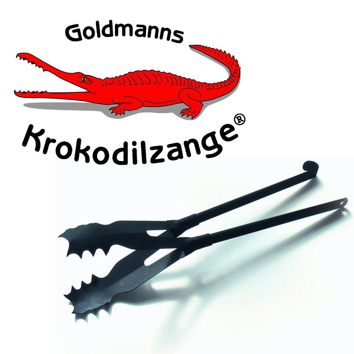 Goldmanns Krokodilzange - Die original Kaminzange - B-Ware