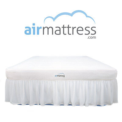 *BEST CHOICE* Raised Air Mattress w/ Hypoallergenic Bed Skirt and Air Bed