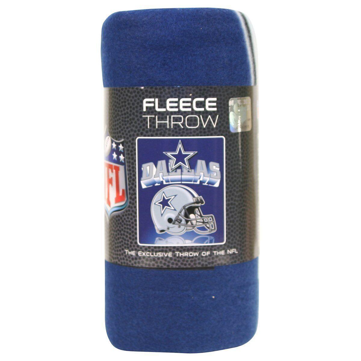 "NFL Teams Soft Fleece Throw Blanket 50"" X 60"" - Pick Your Team"