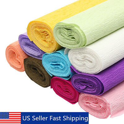 820ft Crepe Paper Wedding Birthday Party Supplies Decoration Paper Streamer Roll - Birthday Paper