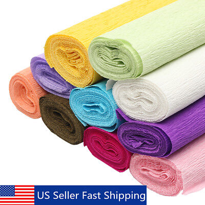 820ft Crepe Paper Wedding Birthday Party Supplies Decoration Paper Streamer Roll - Party Streamer