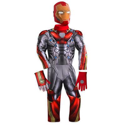 Neu Disney Iron Spider Man Kinder Voll Kostüm - Authentische Kostüme Kinder