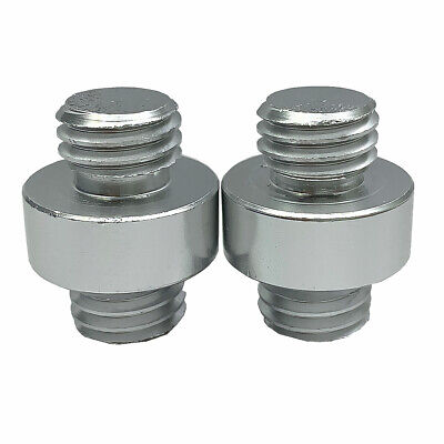 New 2pcs 58 To 58 Thread Adpater For Prism Total Station Surveying