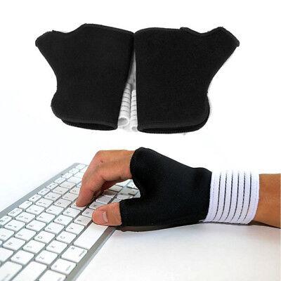 1Pair Wrist Hand Brace Elastic Palm Support Carpal Tunnel Tendonitis Pain (Elastic Wrist Hand Brace)