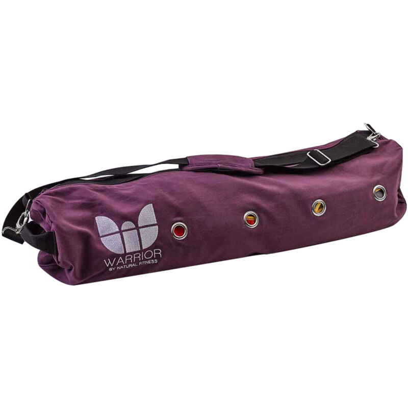 Lifeline USA Natural Fitness Yoga Pro Yoga Mat Bag - Purple
