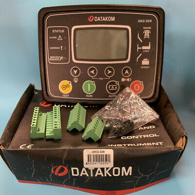 Datakom Dkg-329 Generatormains Automatic Transfer Switch Control Panelats New