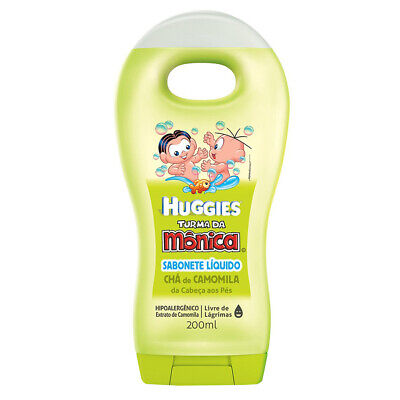 Huggies Baby Kids Brazilian Body Wash Extra Smooth Chamomile