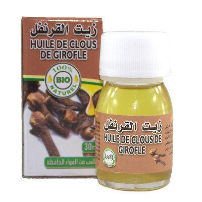 Nelkenöl 30 ml (4,65€ /10ml) 100% natürlich Nelke ätherisch schmerzlindernd  - 10 Ml Natürlicher