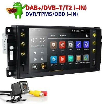 "Android 9.0 7"" GPS Navi Stereo Radio For Jeep Grand Cherokee/Chrysler/Dodge Ram"
