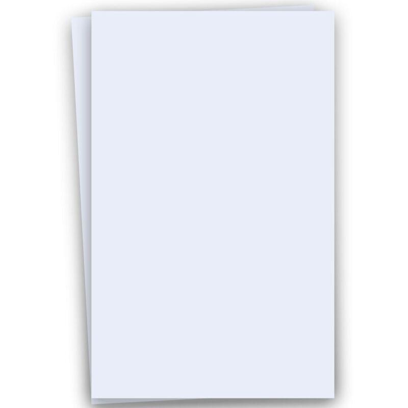 Basics WHITE 12X18 Paper 80C Cardstock - 100 PK -- Quality 12-x-18 Large size...