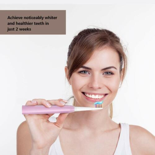 Timer  Electric Toothbrush Rechargeable for Kids Adults and