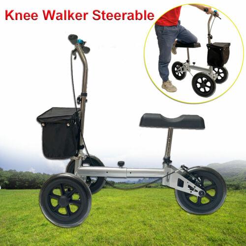 Knee Walker Steerable Medical Knee Scooter Crutch Alternativ