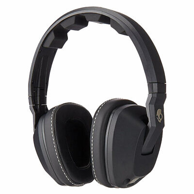Skullcandy S6SCDZ-003 Crusher On-Ear Built-in Amplifier Black Headphone for sale  Shipping to India