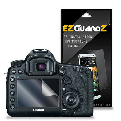 3X EZguardz LCD Screen Protector Skin HD 3X For Canon 5D Mark III (Ultra Clear)
