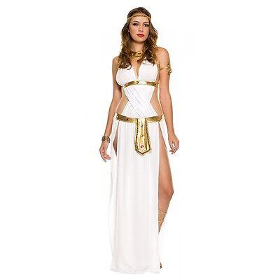 Goddess Costume Adult Sexy Egyptian Greek Halloween Fancy - Egyptian Goddess Halloween Costume