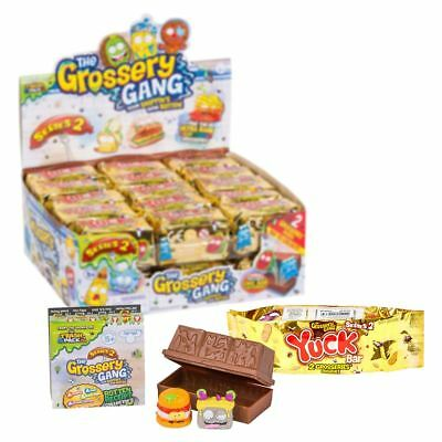 The Gang Box - New 30 PACKS (1 Box) The Grossery Gang Series 2 Yuck Bar Surprise Packs Official