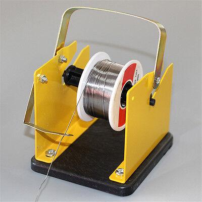 Solder Wire Holder Soldering Reel Dispenser Stand Tin Management Spool