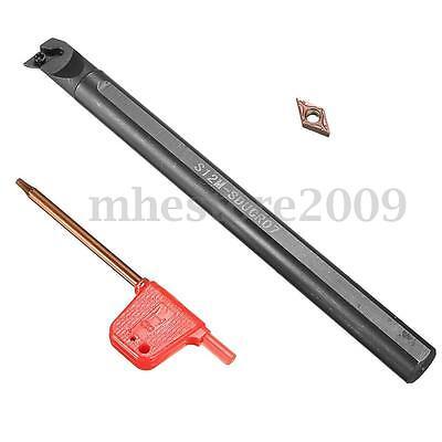 S12m-sducr07 12mm Lathe Turning Tool Holder Boring Bar Dcmt0702 Carbide Insert