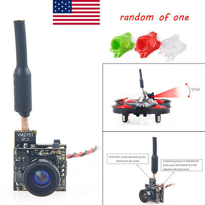 5.8G 2800TVL FPV AIO Micro Camera Integrat 5MW 40CH w/ Y Splitter for FPV Drone