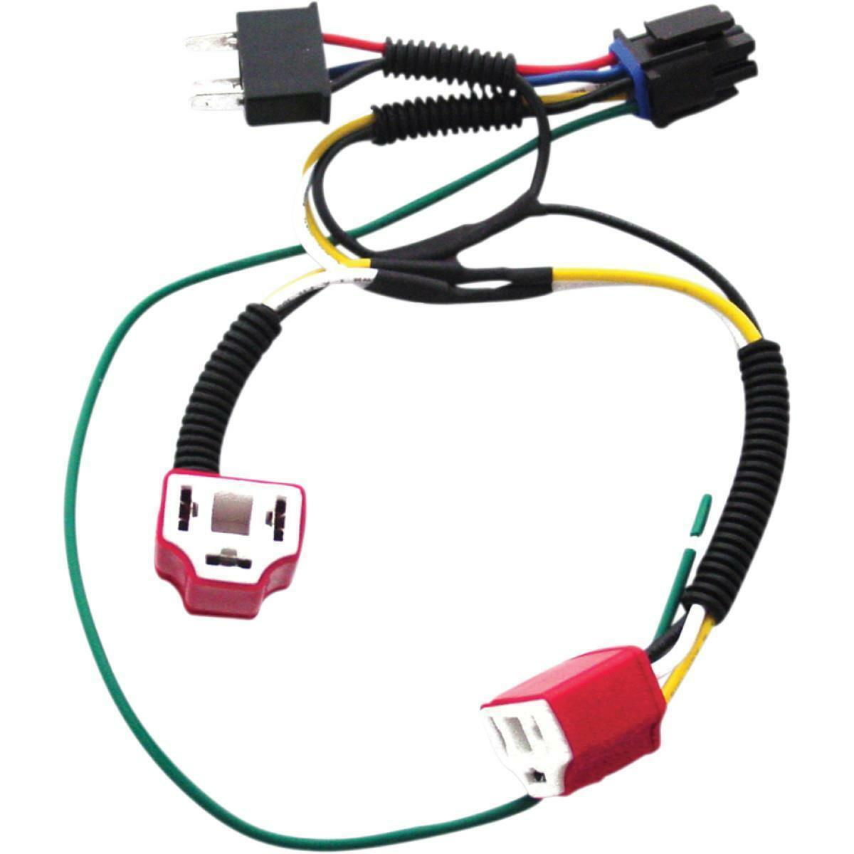 Signal Dynamics 01080 Dual H4 Wiring Harness Kit For Plug And Plugandplay Trailer Connector Motorcycle Superstore Stock Photo