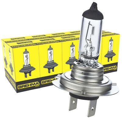 10x H7 BREHMA 12V 55W Birnen Lampen Autolampe Birne Halogen Lampe PX26d Classic online kaufen