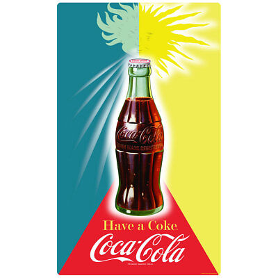 Coca Cola Winter Summer Sun Wall Decal Vintage Style Coke