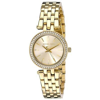 Michael Kors MK3295 Lady's Gold Tone Dial Yellow Gold Steel Watch