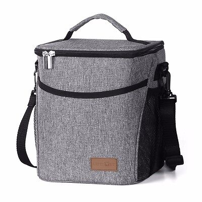 Lifewit 9L Large Insulated Lunch Bag Waterproof Thermal Cooler Bag for Adults