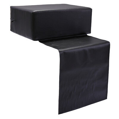 Kids Styling Chair - Barber Beauty Salon Spa Equipment Styling Chair Child Booster Seat Cushion Black