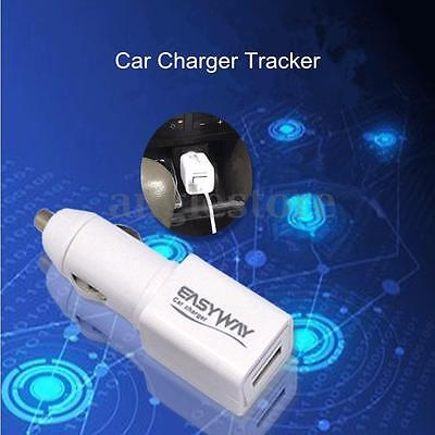 Mini Car Auto Charger GPS Tracker Locator GSM GPRS Real Time Tracking Device US