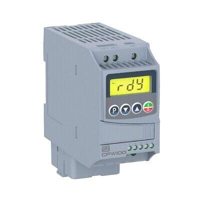 WEG VFD CFW100026SAPLZ IP20 ENCLOSURE CFW10 2.6A 120//1P-230//3P w//POT  NEW IN BOX