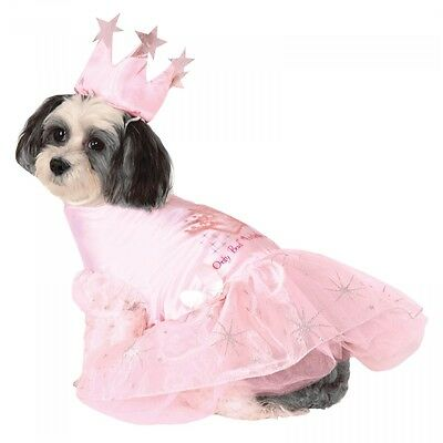 Glinda the Good Witch Costume Pet Wizard of Oz Halloween Fancy Dress (Glinda The Good Witch Halloween Costumes)