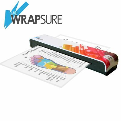 Usi Wrapsure Pouch Laminator For Pouches Up To 12 Wide 5 Mil Thick Demo Unit