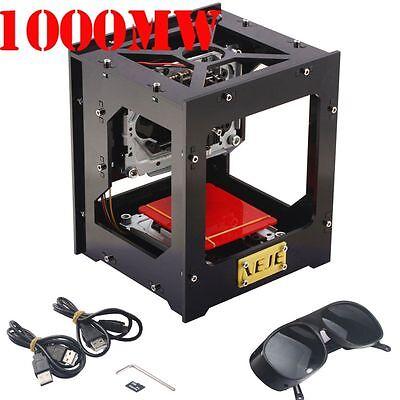 NEJE Neu 1000mW Laser Graviermaschine USB Gravieren Maschine Engraving Cutting