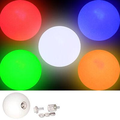 LED Glow Juggling Balls Colour Choice Create a Set Light Up Ball Price per Ball - Light Up Juggling Balls