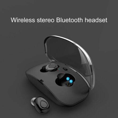 Mini True Wireless Earbuds Bluetooth Headphones Sweatproof w