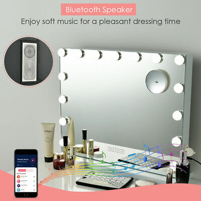Hollywood LED Vanity Makeup Mirror Lights Kit 15 Dimmable Bulbs Dressing Table
