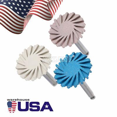 Dental Composite Polishing Kit Rubber Polisher Resin Base For Handpiece Azdent