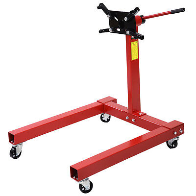 A Heavy Duty Swivel Transmission Gearbox Engine Support Head Stand 1250lbs 570kg