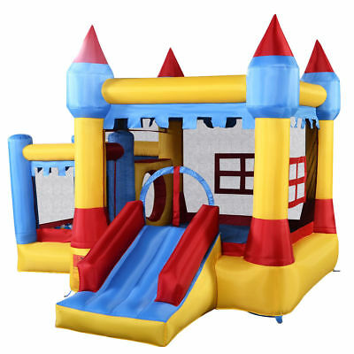 Inflatable Bounce House Castle Commercial Kids Jumper Moonwalk Without Blower